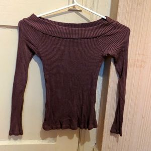 [4/$15] Don't Ask Why long sleeve purple top